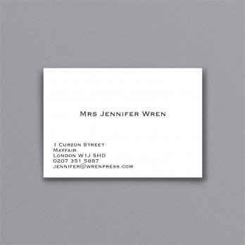business visiting cards archives the wren press