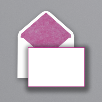 Pink Correspondence Cards